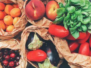 תפוחי פירות וירקות